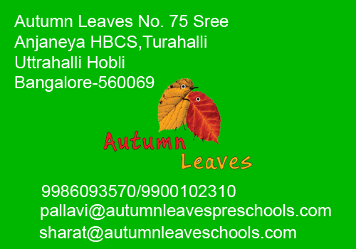 Autumn Leaves PreSchools